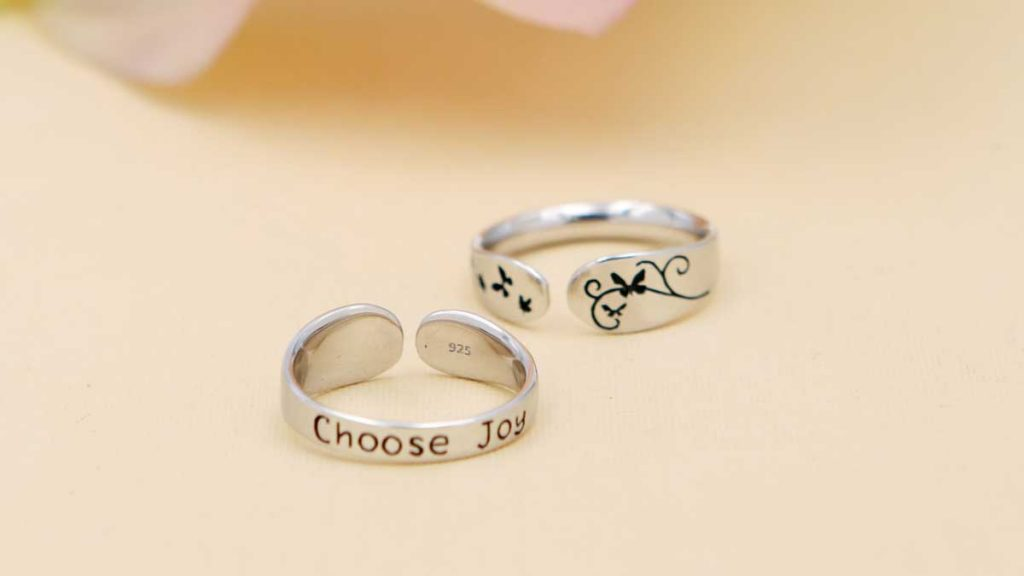Choose Joy Inspirational Ring